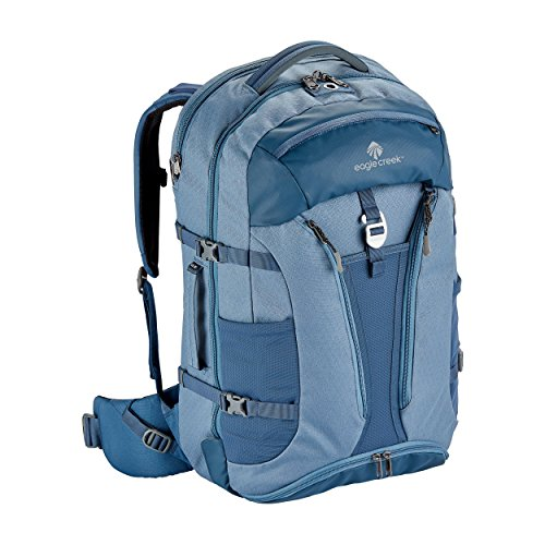 - Eagle Creek Global Companion 40L Women's Backpack Travel Water Resistant Mulituse-17in Laptop Carry-On Luggage, Smokey Blue