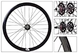 Origin8 700C Fixie Wheelset (ISO Diameter 622), Black NMSW