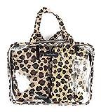 Vera Bradley 4 Pc Cosmetic Organizer Leopard