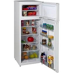 Avanti RA7306WT 2-Door Apartment Size Refrigerator, White