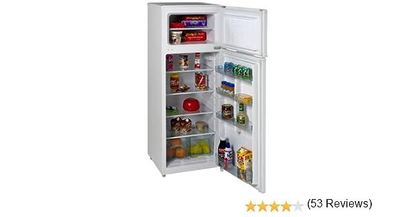 Amazon.com: Avanti RA7306WT 2-Door Apartment Size Refrigerator ...