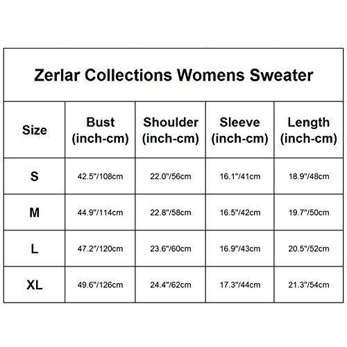 Zerlar - Jerséi - para mujer amarillo