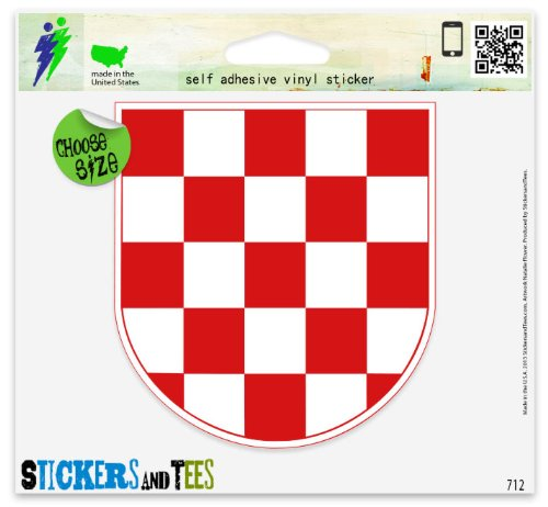 Flag Vinyl Car Bumper Window Sticker 3