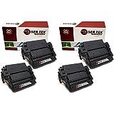 Laser Tek Services ® HP Q6511X (11X) 4 Pack Black Replacement Toner Cartridges for the HP LaserJet 2420, 2420d, 2420dn, 2420n, 2430, 2430dtn, 2430n, 2430tn