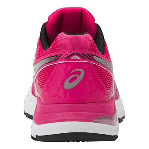 Asics Gel-Pulse 9, Zapatillas de Gimnasia para Mujer Rosa (Cosmo Pink/silver/black)