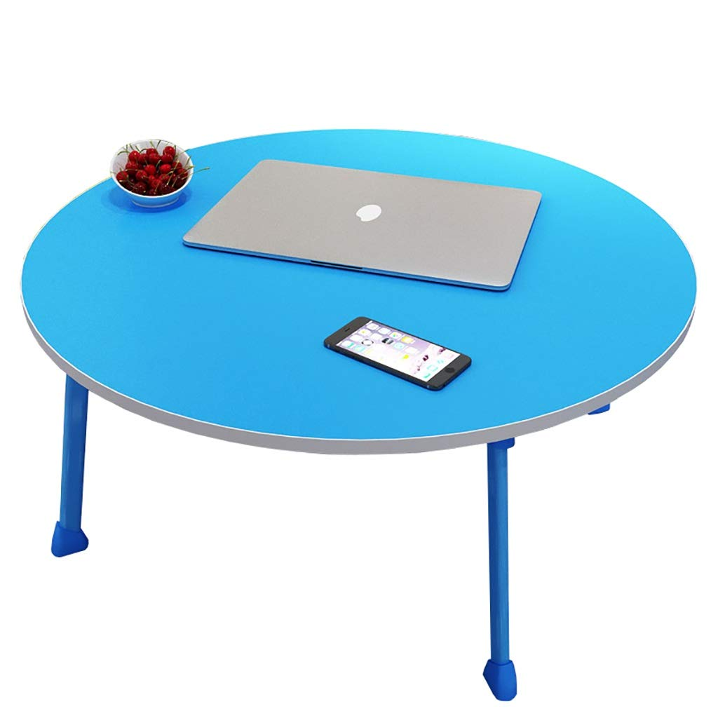 E NSS Laptop Table, No Need to Install, Easy to Fold, No Space, Multiple colors to Choose from Portable Desk (color   F)