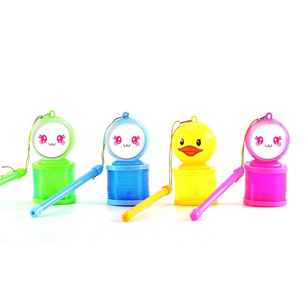 BrawljRORty Lantern,Creative Cartoon LED Lighting Rainbow Circle Spring Lantern Children Toy Gift,Outdoor Toys
