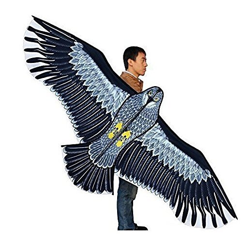 - New Toys 1.8m Power Brand Huge Eagle Kite With String And Handle Novelty Toy Kites Eagles Large Flying For Gift