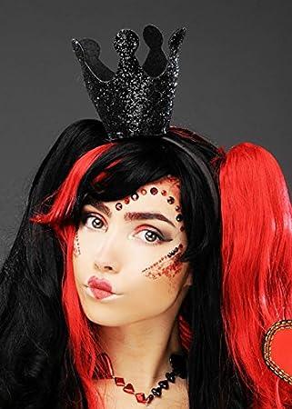 Zombie Prom Queen Grey Glitter Sceptre Evil Fairy Wand