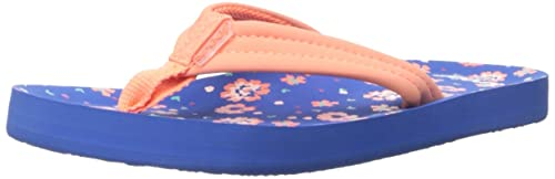 size 40 0687e 402a1 adidas Little Ahi, Tongs Mixte Enfant, Multicolore (Blue Floral), 19 EU