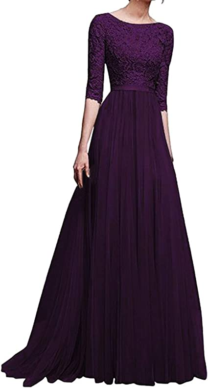 Women Evening Party Long Maxi Dress Bridesmaid Formal Prom Gown Wedding Cocktail