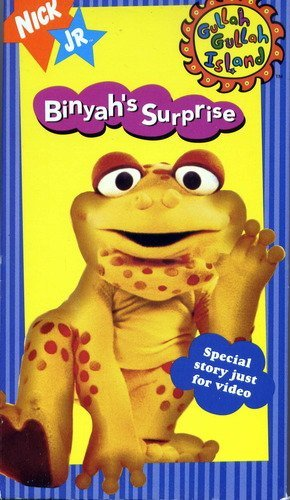 Amazon com: Gullah Gullah Island - Binyah's Surprise [VHS
