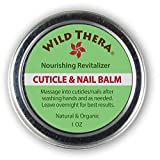 Best Herbal Cuticle Balm. Natural Cuticle Oil Heals Cracked and Rigid Cuticles. Cuticle Cream with Vitamin E, Olive & Coconut Oil, Cocoa Butter and Essential Oils.