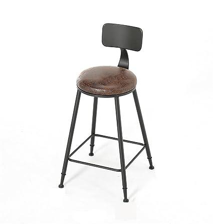 Outstanding Amazon Com Retro Style Bar Stools Kitchen Breakfast Stool Inzonedesignstudio Interior Chair Design Inzonedesignstudiocom
