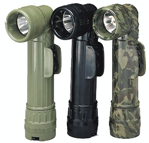 Rothco Gi ''D'' Anglehead Flashlight, Olive Drab ()