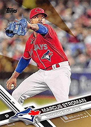 1015e02cdae Amazon.com  2017 Topps Gold  147 Marcus Stroman NM-MT  2017 Blue ...