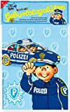Lutz Mauder 10116 Police pochettes surprises pour fête d'anniversaire avec texte et sacs de fête