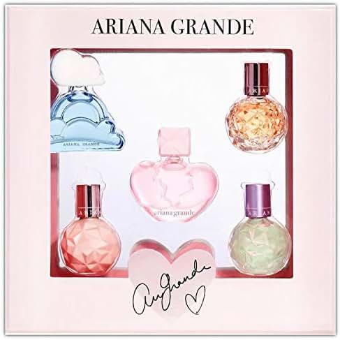 Ariana Grande Deluxe Mini Parfum Coffret Set! Includes 5 Piece Deluxe Mini Eau De Parfum! Ari's Most Loved Fragrances! Experience The Ultimate Set Of Fragrances!