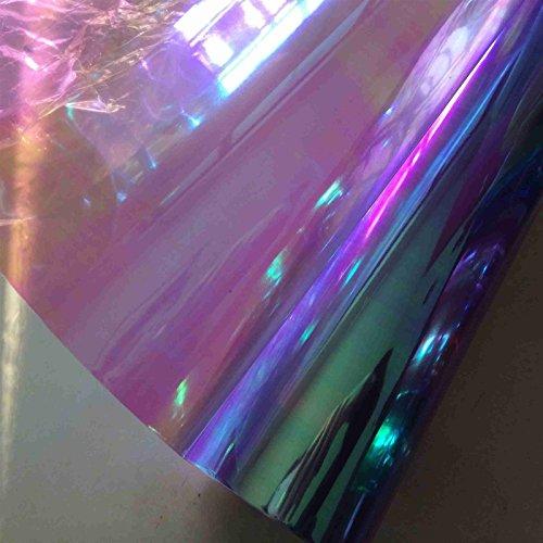 Boost-monkey® Chameleon Neo Clear Color Headlight Taillight Fog Light Vinyl Tint Film (Purple) (Purple Film For Fog Lights compare prices)