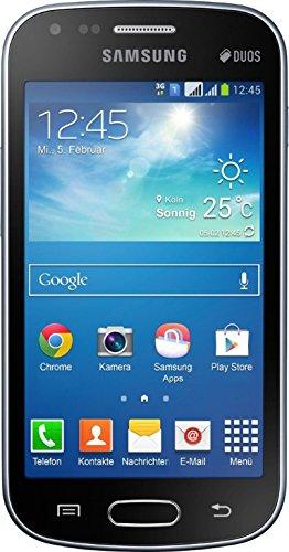 Estuche estanco al agua con entrada de auriculares para Samsung Galaxy S Duos 2 + auricular incluido, transparente | Trotar bolsa de playa al aire libre caja brazalete del teléfono caso de cáscara baj
