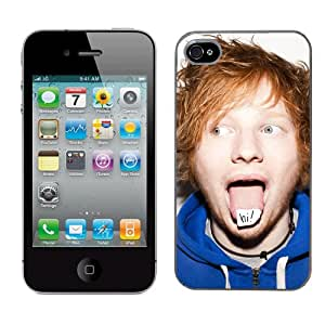 Ed Sheeran Case Fits Iphone 4 & 4s Cover Hard Protective Skin 1 for Apple I Phone