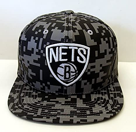 Brooklyn Nets Mitchell & Ness – Gorra reflectante Didi camuflaje 3 ...