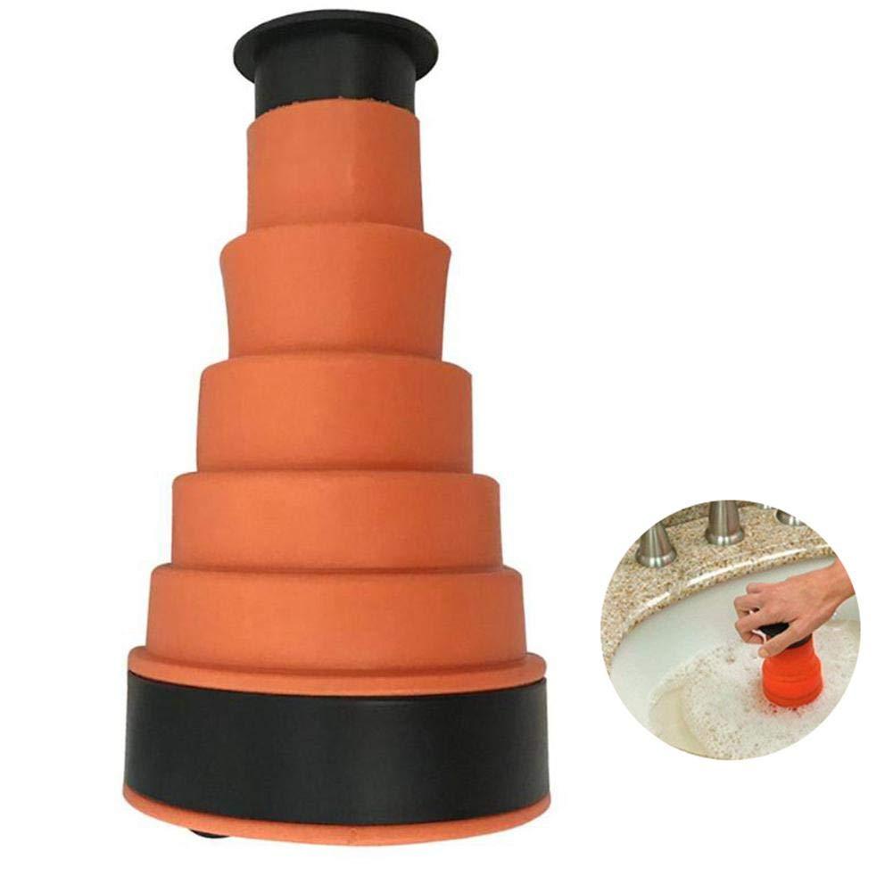 Pawaca Clog Remover stantuffo di scarico WC, ad alta pressione pompa manuale Air Power Blaster di scarico, tubo per lavello cucina bagno stantuffo WC Clog Clean