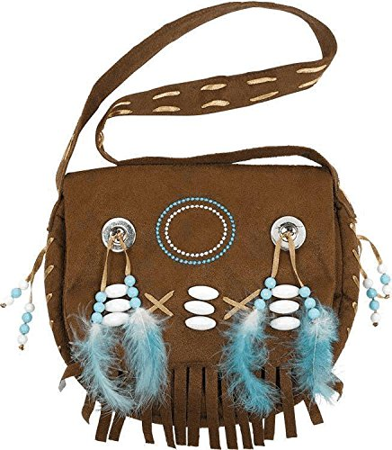 Amscan Womens Native American Purse Halloween Costume Accessory