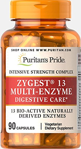 Puritan's Pride Zygest 13 Multi-Enzyme-90 Capsules Review