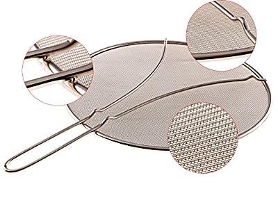 splatter screen for frying pan - grease splatter screen - frying pan splatter guard - splatter guard - splatter screen