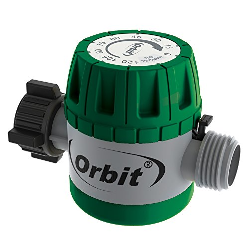 Orbit 62034 Mechanical Watering Hose Timer, Green