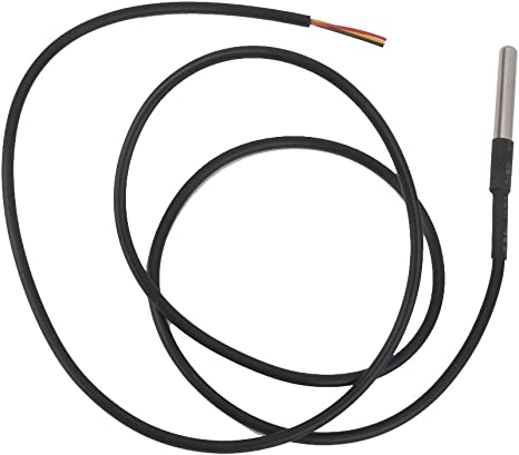 5PZAS Sensor Digital Temperatura DS18B20 Resistente Agua 1m para Arduino