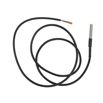Sensor De Temperatura DS18B20 Impermeable Sonda Térmica Digital Para Arduino: Amazon.es: Electrónica