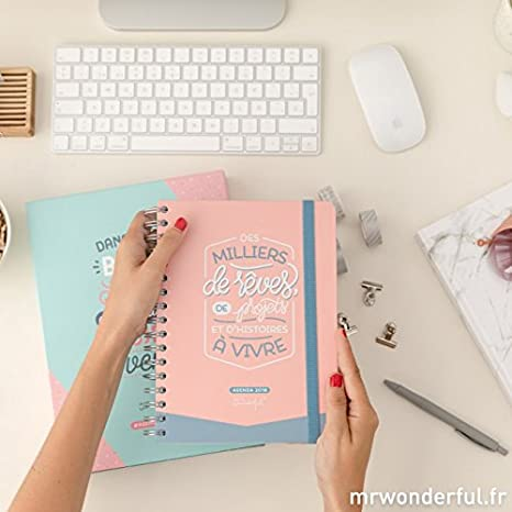 Agenda diaria de 2018 Mr Wonderful - Des milliers de rêves ...