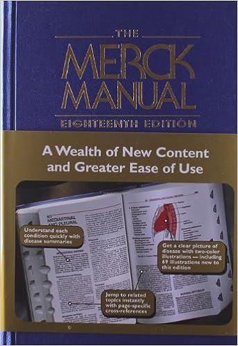 Merck Manual Of Medical Information Pdf
