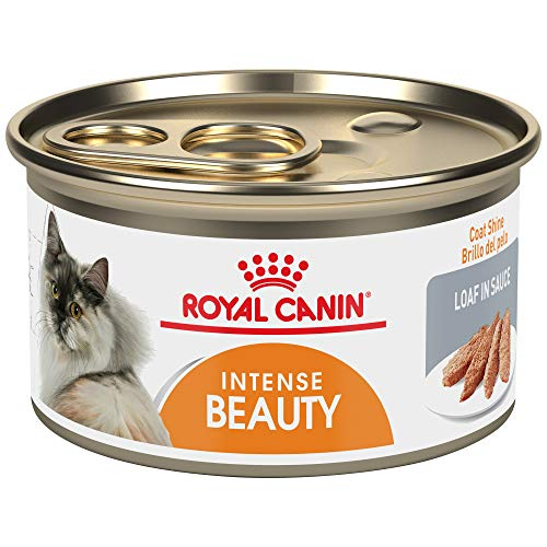 Royal Canin Feline Health Nutrition Intense Beauty 3-Ounce Loaf In Sauce Canned Cat Food (24 cans/case)
