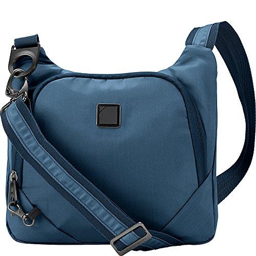 Lewis N. Clark Anti-theft Crossbody Purse + Sling Bag for Women, Men, Travel or Work with RFID Blocking Technology, Slash Resistant Material, Locking Zippers & Adjustable Shoulder Strap
