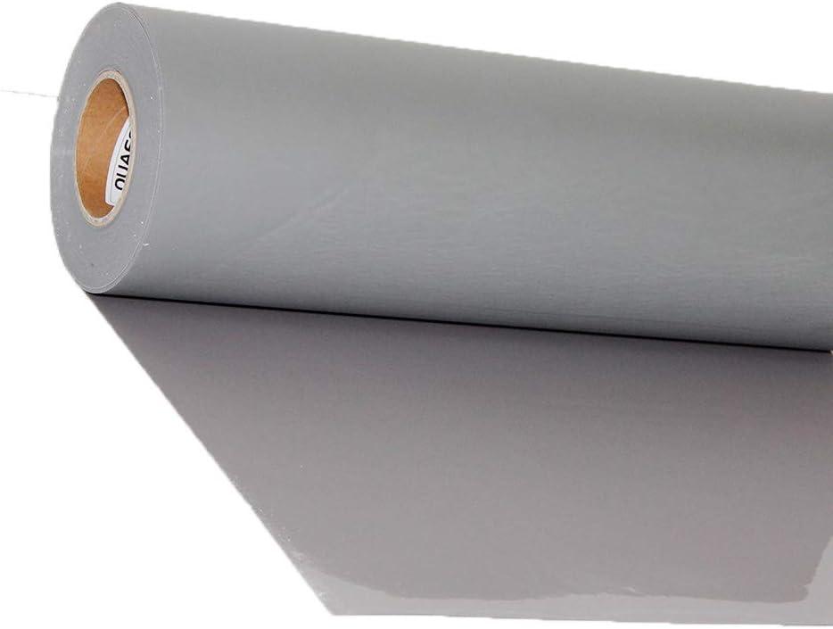 Vinilo de transferencia de calor, de HOHO; plotter de corte, para planchar en la ropa, y que tú mismo crees camisetas (50 x 100 cm) 50cmx100cm gris: Amazon.es: Hogar