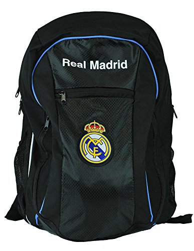 Real Madrid C.F. Authentic Official Licensed Soccer Backpack (Blue)