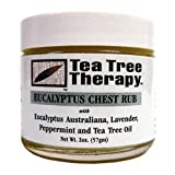 Tea Tree Therapy Eucalyptus Chest Rub 2 Ounces