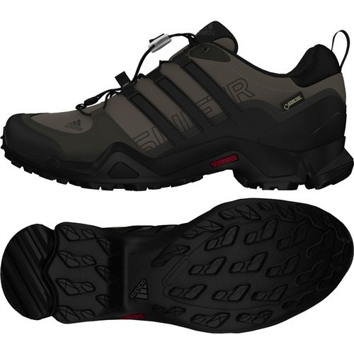 471c6d579 adidas outdoor Men s Terrex Swift R GTX Granite Black Shadow Black Hiking  Shoes - 9 D(M) US - Buy Online in Oman.