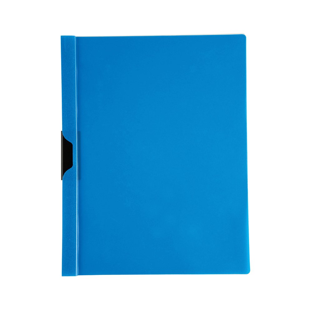 Metal Clip Black Clear Front 50502-68200 Filexec Products Report Cover Pack of 5 Presentation Folder