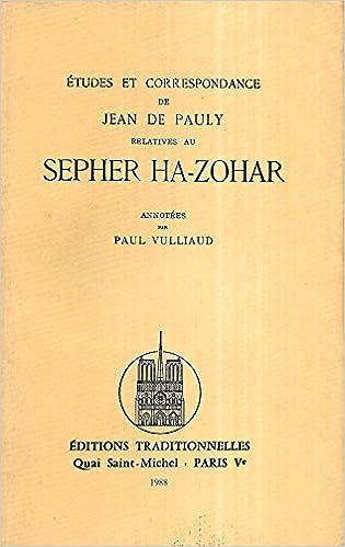 JEAN DE PAULY ZOHAR PDF