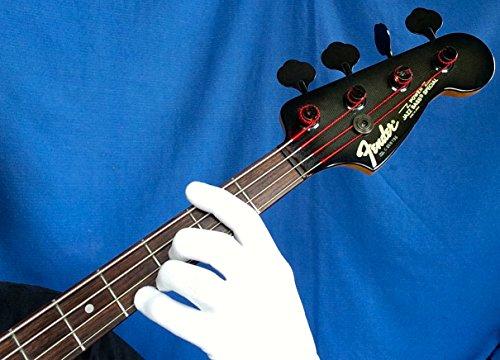 guitar glove bass glove musician practice glove l 2 pack fits either hand color skin. Black Bedroom Furniture Sets. Home Design Ideas