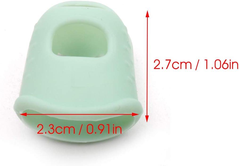 JJmooer 2pcs Kalimba Silikon Finger Fingertip Protektoren f/ür Kalimba Anf/änger Starter Green Large
