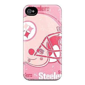 Iphone 4/4s NGD4568giOn Custom HD Pittsburgh Steelers Image Shock Absorption Hard Phone Covers -MansourMurray