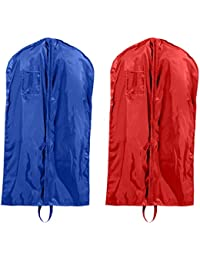 Single-Zippered Nylon Garment Bags Set