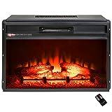 "Best freestanding electric fire - AKDY 23"" Black Freestanding Electric Firebox Fireplace Heater Review"