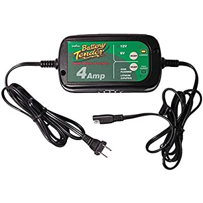 Battery Tender(r) 022-0209-Dl-Wh 12-Volt/6-Volt Switchable 4-Amp Battery Charger