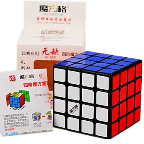 New Cube - Cuberspeed New batch Qiyi WuQue 4x4 Black Magic cube MoFangGe Wuque 4x4 Black Speed cube